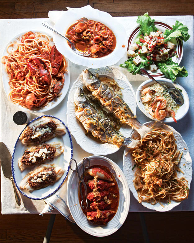 Feast of Seven Fishes - Italy