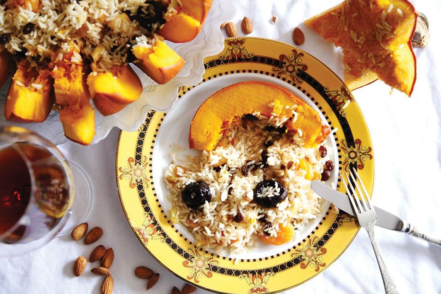 Ghapama - pumpkin dish - Armenia