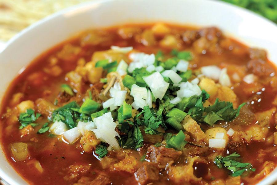 Menudo soup - Mexico
