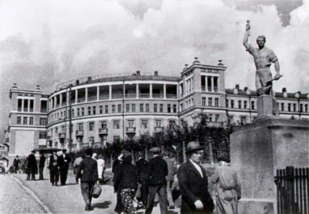 Charushin's hotel in Kirov