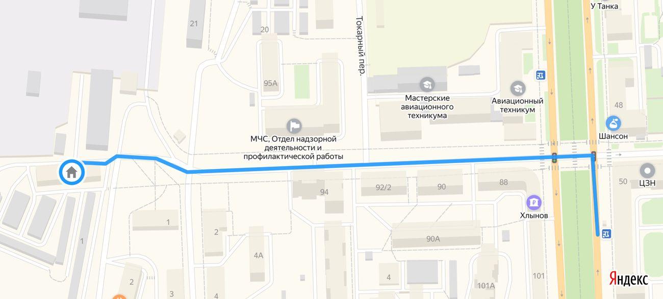 Map of Kirov - Hostel Dostoevsky Kirov